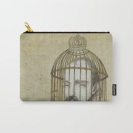 Michel Du Montaigne (1533 - 1592) An Inspirational Philosopher; Prison in the Sky Carry-All Pouch