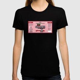 Snatch Double Cherry Cream Stout Label T-shirt