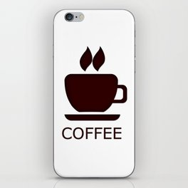 Coffee Time- Coffee Espresso. Cup Of Coffee iPhone Skin