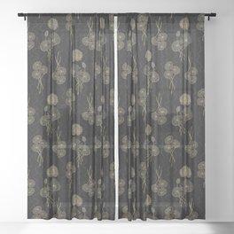 Murky Waters Sheer Curtain