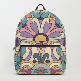 Happiness is Now Mandala Backpack
