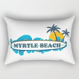 Myrtle Beach - South Carolina. Rectangular Pillow