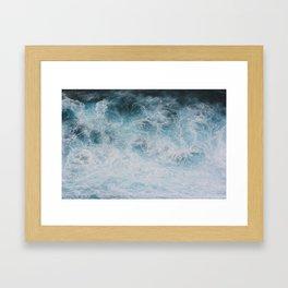 Bali Surf Framed Art Print