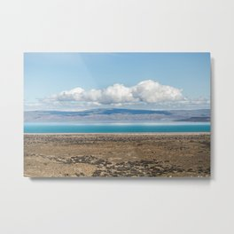 Blue Patagonia Metal Print