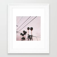 oakland Framed Art Prints featuring Oakland Summertime by SlowDown&GoOutside