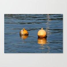 Mooring buoys 016 Canvas Print