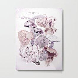 Mushroom Medley Metal Print