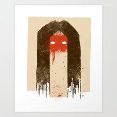 The Silence (Native Woman) Art Print