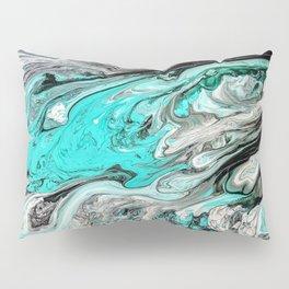 Seafoam Marble Pillow Sham