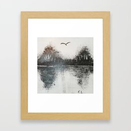 Mountain Paradise Framed Art Print