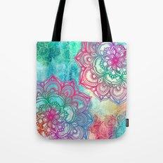 Round & Round the Rainbow Tote Bag