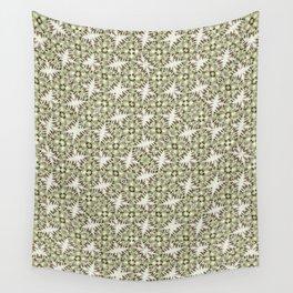 Modern Geometric Check Print Pattern Wall Tapestry