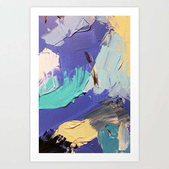 Wasser 5 Art Print