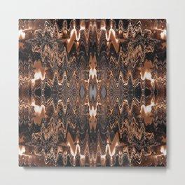 Triple Chocolate Caramel Melt Metal Print