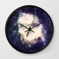 dead space Wall Clocks featuring Dead Space by Nicholas Redfunkovich