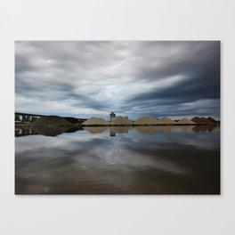 Storm Cloud Reflections Canvas Print