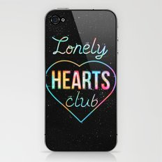 Lonely hearts club iPhone & iPod Skin
