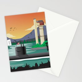 Pearl Harbor, HI - Submarine Homeport Stationery Cards