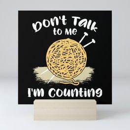 Crochet - I'm Counting Mini Art Print