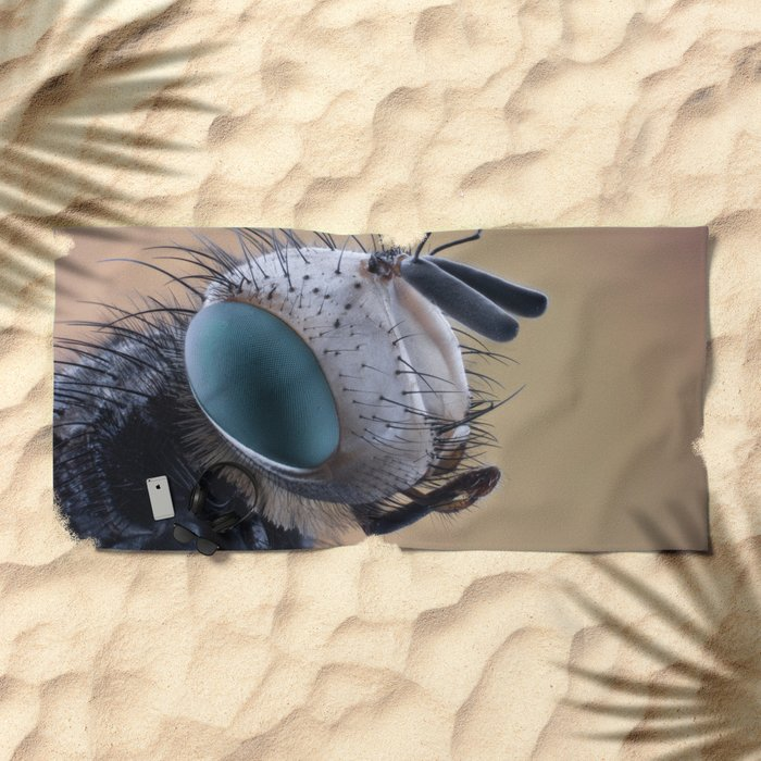 Insect II Beach Towel