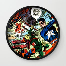 The one man army Wall Clock