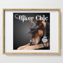 Biker Chic Serving Tray
