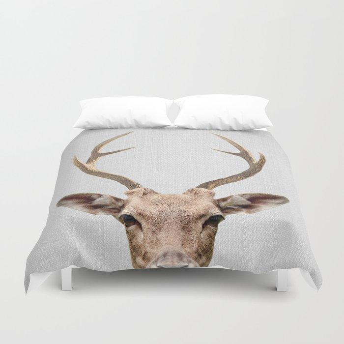 Deer - Colorful Bettbezug