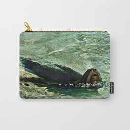 SEA LION in AQUATIC DREAMING WORLD Carry-All Pouch