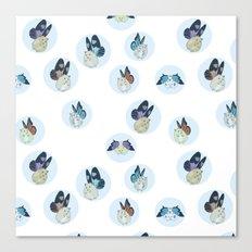 Hampster Butterflies Canvas Print