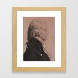Charles Balthazar Julien Fevret de Saint-Mémin French, worked in France and America 1770 - 1852 Colo Framed Art Print