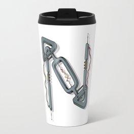 MACHINE LETTERS - N Travel Mug