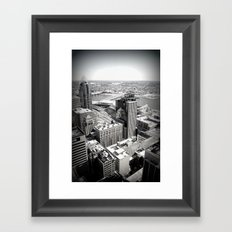 Cincinnati - Downtown #3 Framed Art Print