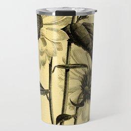 Sunflower Helianthus multiflorus 1891 Travel Mug