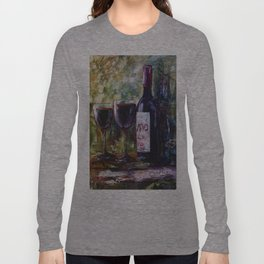 """Aged Wine"" Long Sleeve T-shirt"