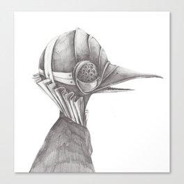 Birds from War. I Canvas Print
