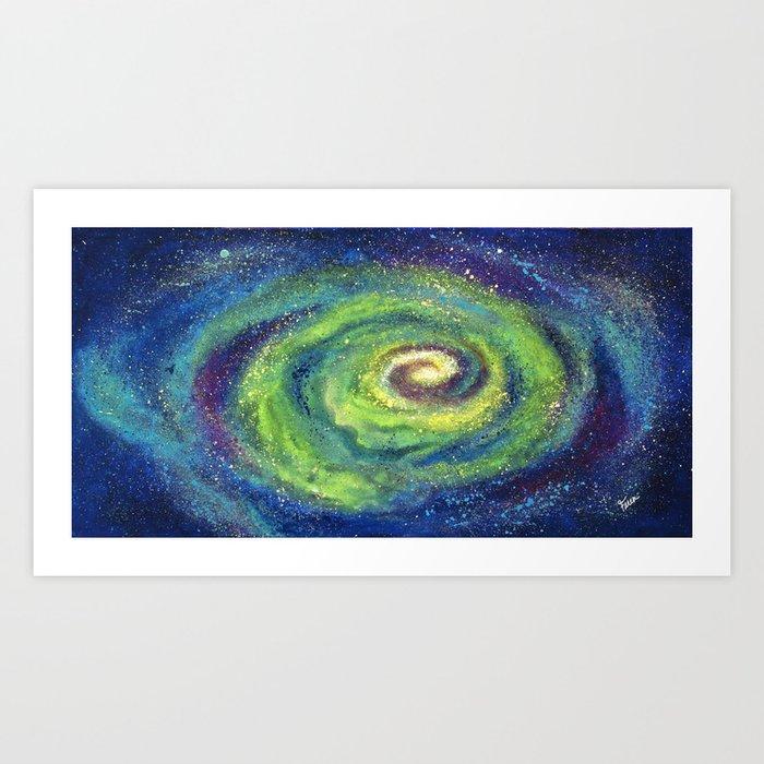 We Are The Light, Cosmic Series Art Print