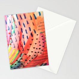 Fun Lovin - a bright watercolor piece Stationery Cards