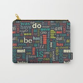 Wordly Connections Carry-All Pouch