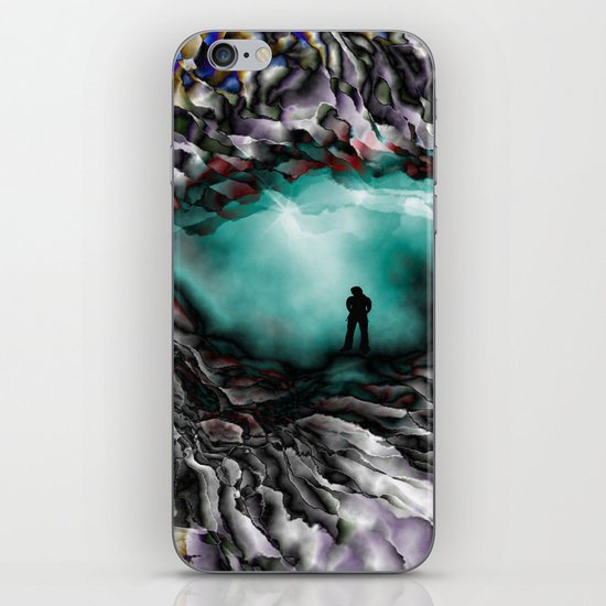 Light on the other side iPhone & iPod Skin
