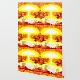 Atomic Bomb Heat Background Wallpaper