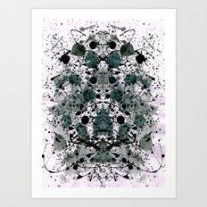 Smart Brain Art Print