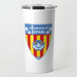 Menorca Spain Travel Mug