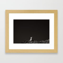 Yucca Valley, CA Framed Art Print