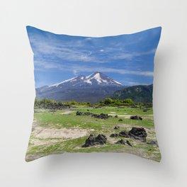 Amazing Volcano Throw Pillow