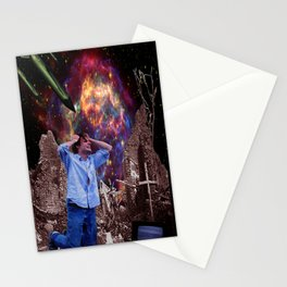 Supernova of Solitude Stationery Cards