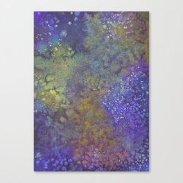 Abstract Watercolor #3 Canvas Print
