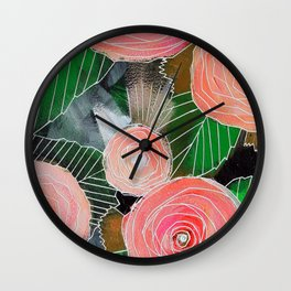 Botanic no. 2 Wall Clock