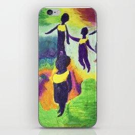 Ghana Dancers iPhone Skin