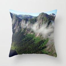 Misty Fjords Throw Pillow