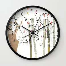 the last forest Wall Clock